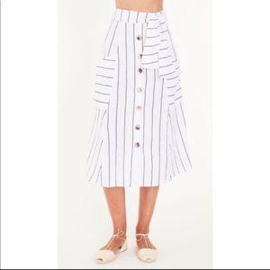 NWT Faithful The Brand Gonzalez skirt in Almada